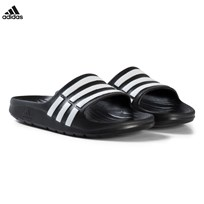 adidas Performance Black Duramo Sliders BLACK 1/RUNNING WHITE FTW/BLACK 1