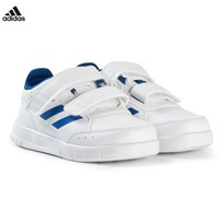 adidas Performance White and Blue AltaSport Velcro Infants Trainers FTWR WHITE/BLUE/FTWR WHITE