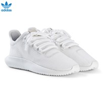 adidas Originals White Tubular Shadow Junior Trainers FTWR WHITE/CORE BLACK/FTWR WHITE