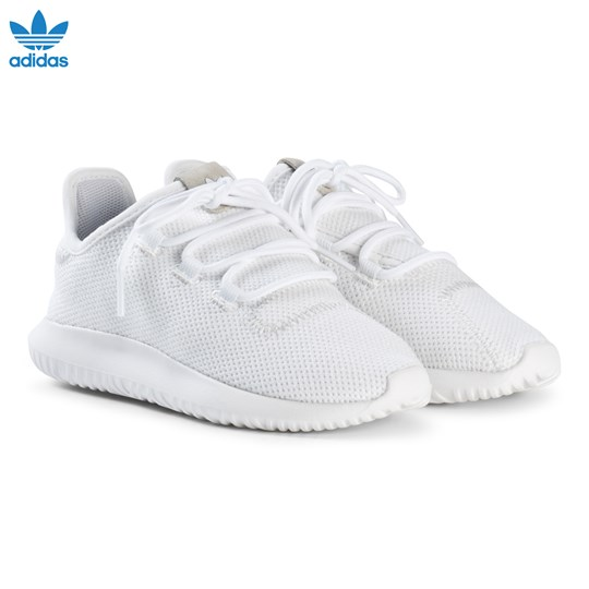 Boys White adidas Youth Tubular Shadow Sneakers