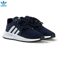 adidas Originals Navy X PLR Kids Trainers COLLEGIATE NAVY/FTWR WHITE/FTWR WHITE