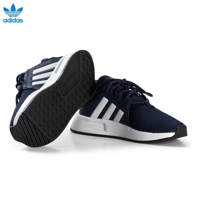 adidas Originals Navy X PLR Kids Trainers Babyshop.no