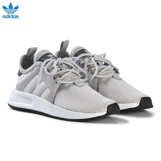 adidas Originals Grey X PLR Kids Trainers GREY TWO F17/ORCHID TINT S18/FTWR WHITE