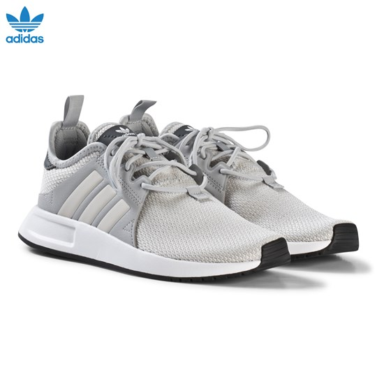 adidas Originals Grey X PLR Junior Trainers GREY TWO F17/ORCHID TINT S18/FTWR WHITE