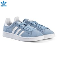 adidas Originals Blue Campus Junior Trainers ASH BLUE S18/FTWR WHITE/FTWR WHITE