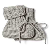 FUB Baby Booties Light Grey Light Grey