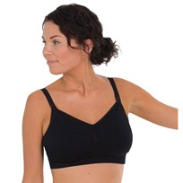 Carriwell Padded Nursing Bra Black Black