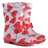 Catimini Rain Boots with Heart Print 01