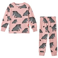 Tao&friends Boar Pyjamas Pink Pink