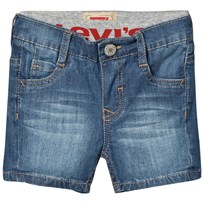 Levis Kids Blue Mid Wash 511 Pull Up Denim Short 46