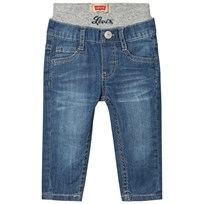 Levis Kids Pull Up Jeans Light Wash 46