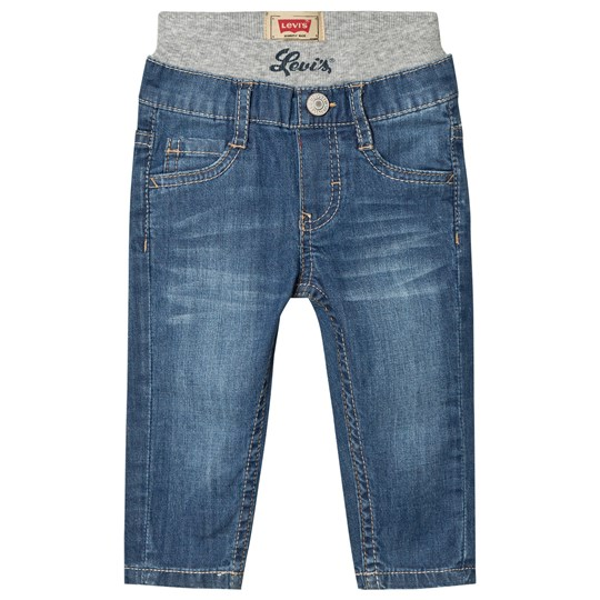 Levis Kids Light Wash Pull Up Jeans 46