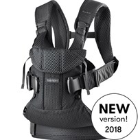 Babybjörn Baby Carrier One Air Black Black, Mesh