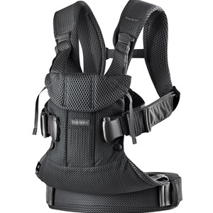 Image of Babybjörn Baby Carrier One Air Black One Size (1066916)