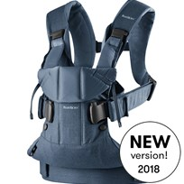 Babybjörn Baby Carrier One Classic Denim/Midnight Blue Cotton Mix Classic denim/Midnight blue, Cotton Mix