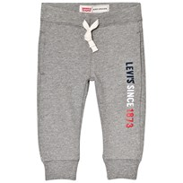 Levis Kids Grey Marl Logo Print Sweat Pants 20