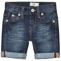 Levis Kids Mid Wash 511 Slim Jean Shorts 46