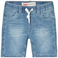Levis Kids Light Wash Jog Denim Shorts 46