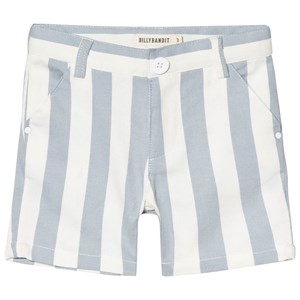 Image of Billybandit Blue and White Stripe Twill Shorts 8 years (3056057535)
