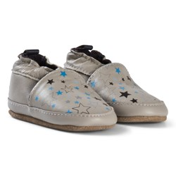 Melton Star Sky Leather Shoes Chateau Grey