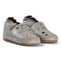 Melton Star Sky Leather Shoes Chateau Grey Chateau Gray