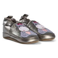 Melton Hippo Leather Shoes Griffin Grey Griffin Grey