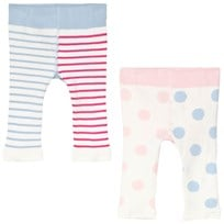 Tom Joule Pink, Blue and Cream Cat Charcter Lively Leggings True Pink Cat
