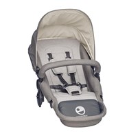EasyWalker Harvey Seat Steel Grey Grey