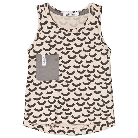 Indikidual Blush Wave Print Tank Top Blush