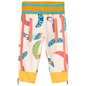 Image of Indikidual Blush Multi Banana Print Sweatpants 6-12 months (2956637795)