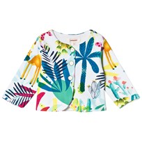 Catimini Oasis Print Fleece Jacket 13