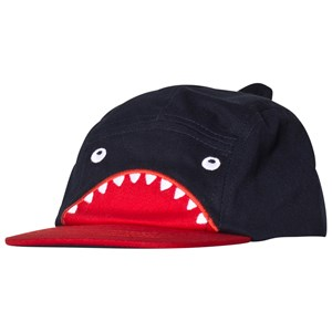 Image of Catimini Shark Print Hat Navy 51 (4-6 years) (2956639731)