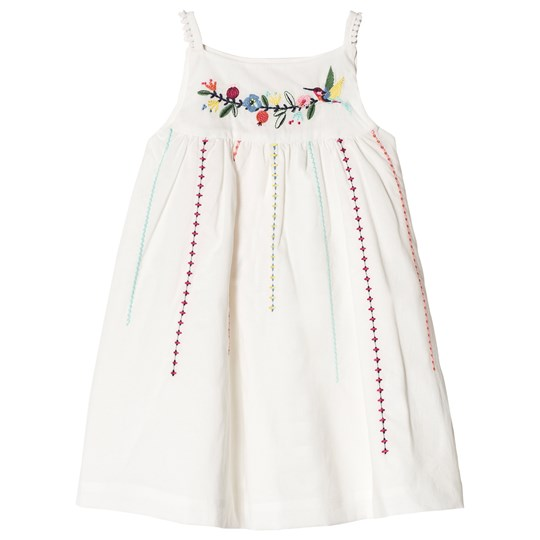 Catimini Embroidered Pique Dress 13