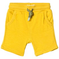 Catimini Yellow Jersey Pull Up Shorts 74