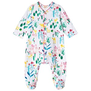 Image of Catimini Footed Baby Body with Oasis Print 1 month (2956639577)