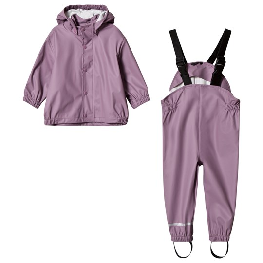 Mikk-Line Pu Rain set Campaign Very Grape Very Grape