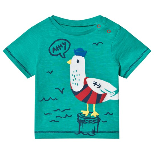Hatley Green Ahoy Matey Mini Tee Green