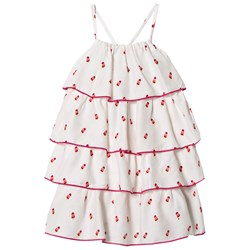 Hatley White Tiny Ice Lollies Tiered Dress
