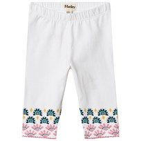 Hatley White Summer Capri Leggings White