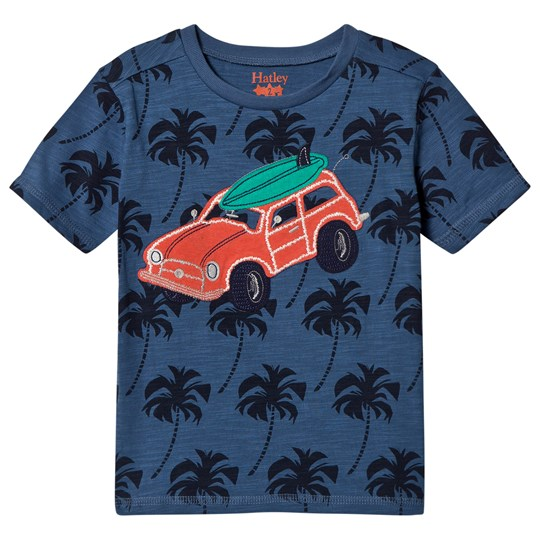 Hatley Blue Beach Buggy Tee Blue