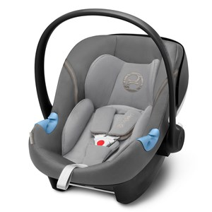Image of Cybex Aton M i-Size Infant Carrier Manhattan Grey 2018 (3065507465)