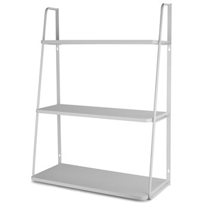 Image of JOX 3-level Wall Shelf Grey (3056115921)