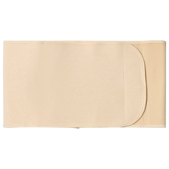 Carriwell Adjustable Organic Cotton Belly Binder Nude Beige