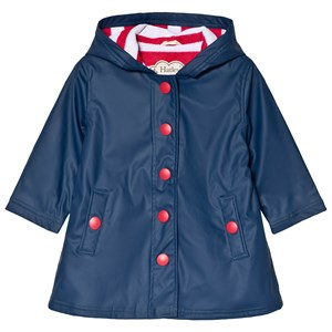Image of Hatley Navy with Red Stripe Splash Jacket 2 years (3125339639)