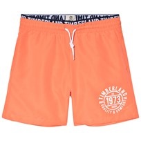 Timberland Orange Branded Logo Swim Shorts 420
