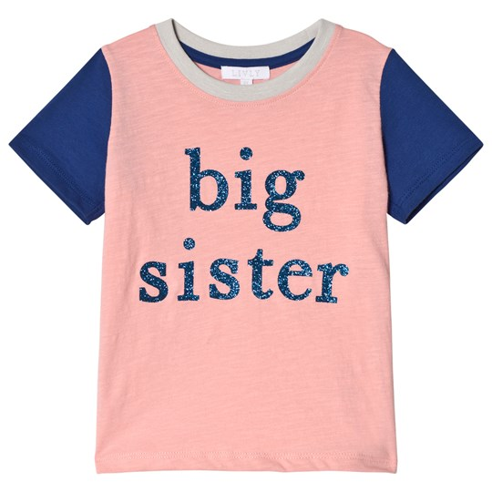 Livly Big Sister T-shirt Neon Pink/Blue Neon Pink/ Blue