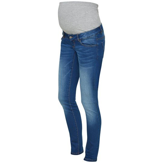 Mamalicious Fifty 002 Slim Jeans Medium Blue Denim Medium Blue Denim