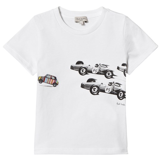 Paul Smith Junior White Mini Applique Print Tee 1