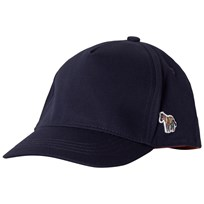 Paul Smith Junior Navy Zebra Branded Cap 492