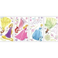 RoomMates Wallstickers - Disney Glow Princess Pink